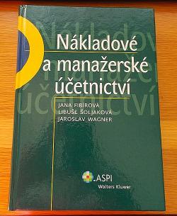 Nákladové a manažerské účetnictví obálka knihy