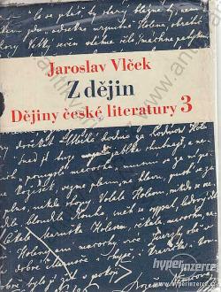 Z dějin  Dějiny české literatury III obálka knihy