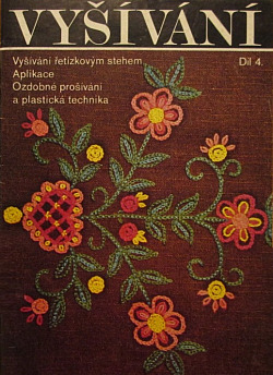 Vyšívání IV. díl obálka knihy
