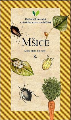 Mšice: Malý atlas do ruky, 3. díl obálka knihy
