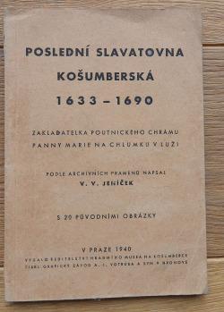Poslední Slavatovna Košumberská 1633-1690 obálka knihy