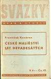 České malířství let devadesátých