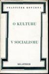 O kulturu v socialismu