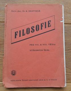 Filosofie pro VII. a  VIII. třídu středních škol obálka knihy