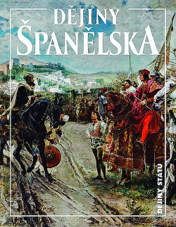 Dějiny Španělska obálka knihy