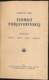 Sobrané spisy Ľudmily Podjavorinskej I.