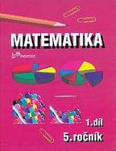 Matematika pro 5. ročník – 1. díl obálka knihy