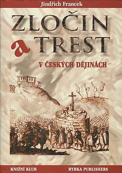 Zločin a trest v českých dějinach obálka knihy