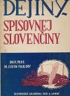Dejiny spisovnej slovenčiny