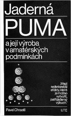 Jaderná puma a její výroba v amatérských podmínkách obálka knihy