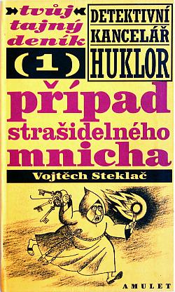 Případ strašidelného mnicha obálka knihy