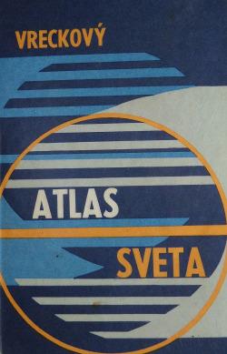 Vreckový atlas sveta obálka knihy