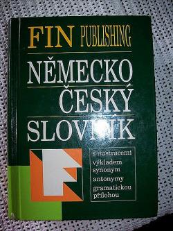 Německo-český slovník obálka knihy