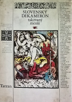 Slovenský Dekameron, takzvaný menší obálka knihy