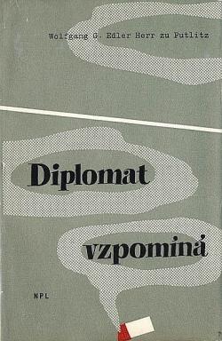 Diplomat vzpomíná obálka knihy
