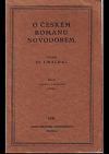 O českém románu novodobém