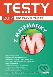Testy 2017 z matematiky pro žáky 9. tříd ZŠ obálka knihy