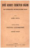 Dvě knihy českých dějin kniha druhá