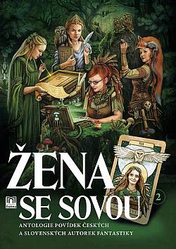 Žena se sovou obálka knihy