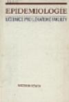 Epidemiologie obálka knihy