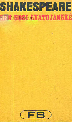 Sen noci svatojánské obálka knihy