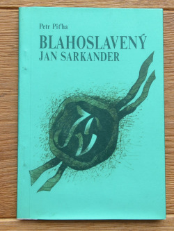 Blahoslavený Jan Sarkander obálka knihy