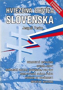 Hviezdna chvíľa Slovenska obálka knihy