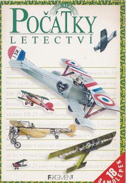 Počátky letectví obálka knihy