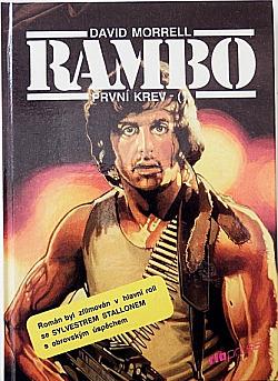 Rambo I (První krev) obálka knihy