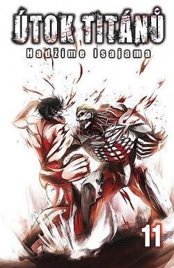 Útok titánů 11 obálka knihy