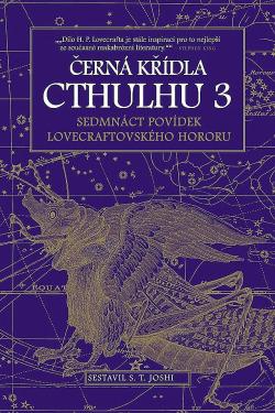 Černá křídla Cthulhu 3 obálka knihy