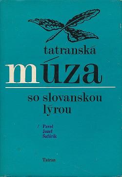 Tatranská múza so slovanskou lýrou obálka knihy