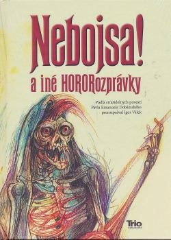 Nebojsa! a iné HORORozprávky obálka knihy