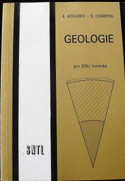 Geologie pro SOU hornická obálka knihy