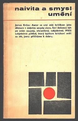 Naivita a smysl umění obálka knihy