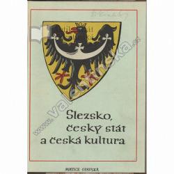 Slezsko, český stát a česká kultura obálka knihy
