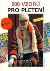 500 vzorů pro pletení s popisem obálka knihy