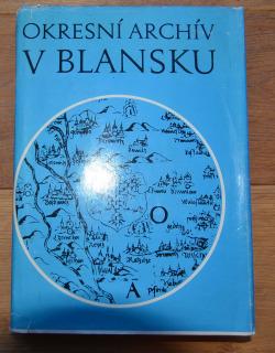 Okresní archív v Blansku obálka knihy