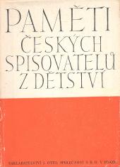 Paměti českých spisovatelů z dětství obálka knihy