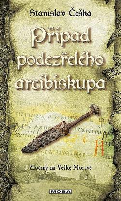 Případ podezřelého arcibiskupa obálka knihy