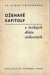 Ožehavé kapitoly z českých dějin církevních
