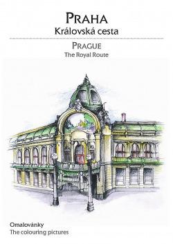 Praha   Královská cesta obálka knihy
