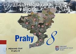2. světová válka v ulicích Prahy 8 obálka knihy