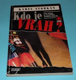 Kdo je vrah? obálka knihy