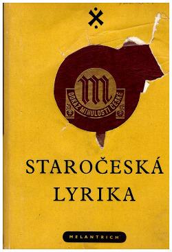 Staročeská lyrika obálka knihy