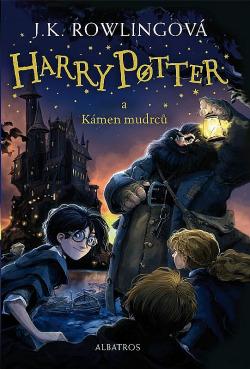 Harry Potter a Kámen mudrců obálka knihy