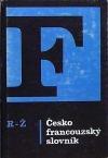 Česko francouzský slovník R-Ž