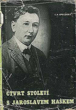Čtvrt století s Jaroslavem Haškem obálka knihy