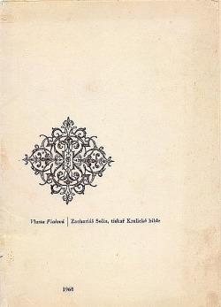 Zachariáš Solín, tiskař Kralické bible obálka knihy