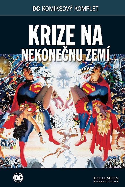 7148a2c3bb3 DC komiksový komplet  Krize na nekonečnu zemí - Marv Wolfman ...